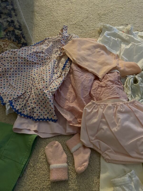 Lot Of Vintage Baby And Infant Clothes
