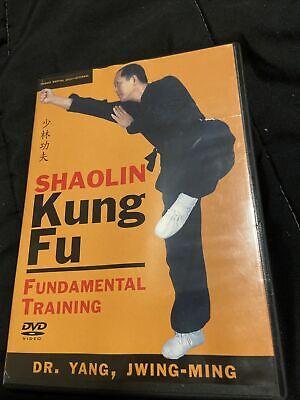 Shaolin Kung Fu: Fundamental Training (DVD, 2004)