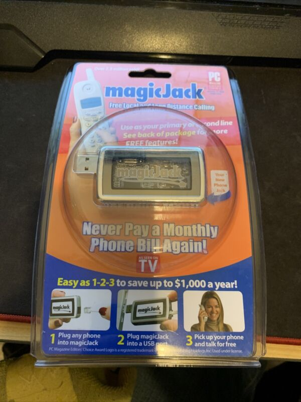MagicJack Free Local And Long Distance Calling As Seen On TV 430-0302 - New!