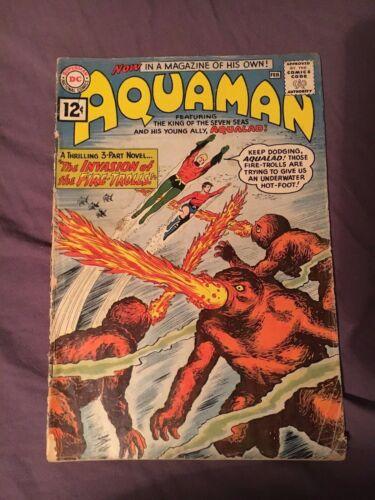 Aquaman #1 (Jan-Feb 1962, DC)