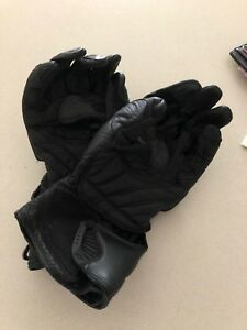 Alpine Star motorbike padded gloves Large
