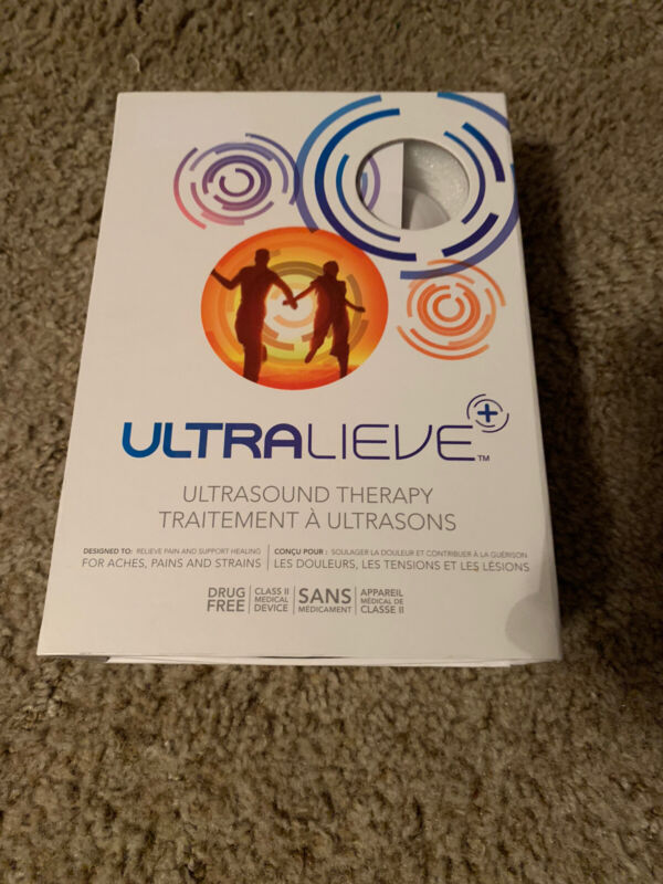 Ultralieve Ultrasound Therapy Personal Device NEW OPEN BOX - NO GEL