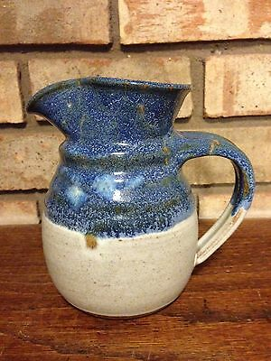 VINTAGE HANDCRAFTED CANTERBURY STUDIO ART POTTERY CONTEMPORARY PITCHER GLAZED!