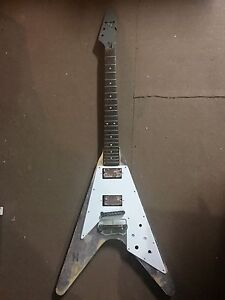 Flying V Body with neck and parts damaged