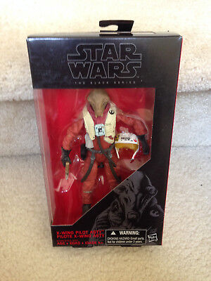 Star Wars 2015 The Black Series X-WING PILOT ASTY 6