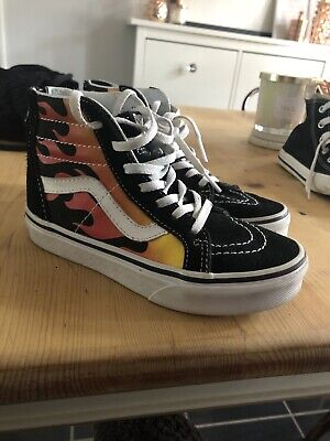 Junior Vans Off The Wall Flames 12.5