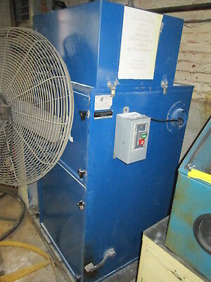 Donaldson Torit 80 Cab 115208230v 1ph 60 Hz 1.5 Hp Bag Type Dust Collector