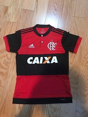 Adidas CR Flamengo Mens 1987 Replica Home Shirt Jersey Size S CZ2321 Soccer Rare image