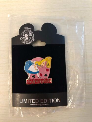 Disney Attitude Series Alice In Wonderland Adventure Rare HTF LE 250 Pin