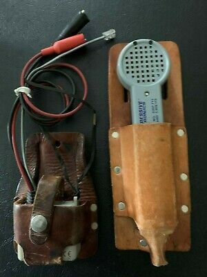 Progressive Electronics 200ep Probe And 77hp Tracer Wleather Carrying Pouches