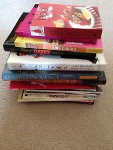 Lot of Cook Books Bull Creek Melville Area Preview