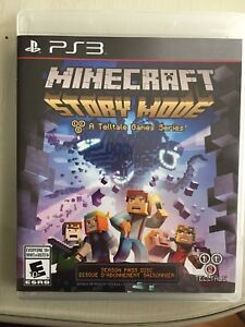 Minecraft Story mode game PS3