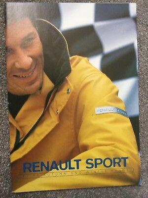 Renault 1997-98 Autumn & Winter accessories Brochure in Excellent condition