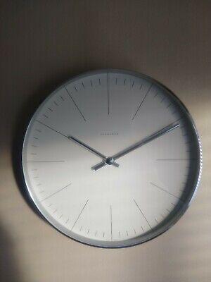 Junghans Max Bill 12 Inch Wall Clock