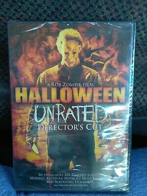 Halloween (Unrated Director's Cut) DVD Michael Myers Rob Zombie BRAND NEW SEALED - Halloween Director Rob Zombie