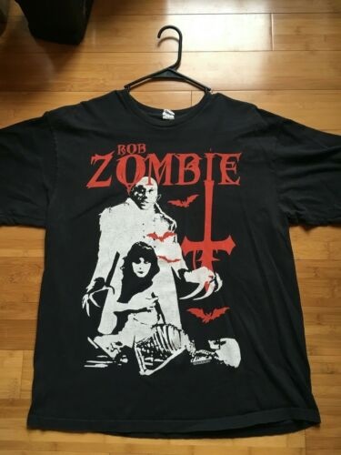 Rob Zombie t shirt mens