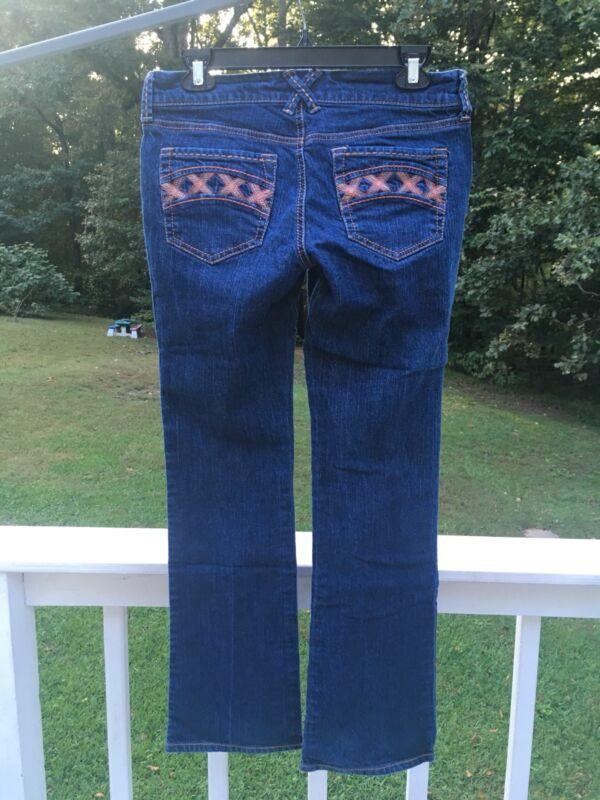 Old Navy The Diva Jeans Womens 6 Regular Medium Blue Wash Stretch