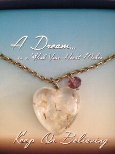 Wishes from the heart necklace