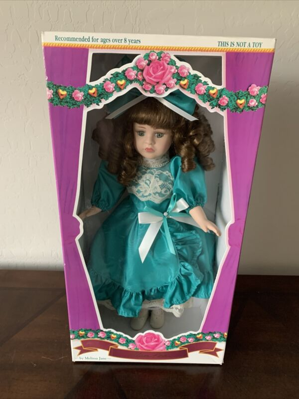 Victorian Rose Collection 1996 Porcelain Doll
