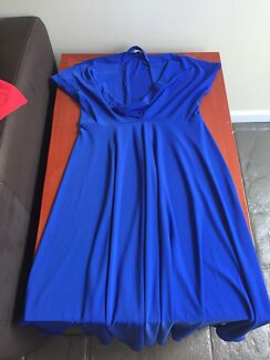 Maternity dress and two other dresses with room to grow