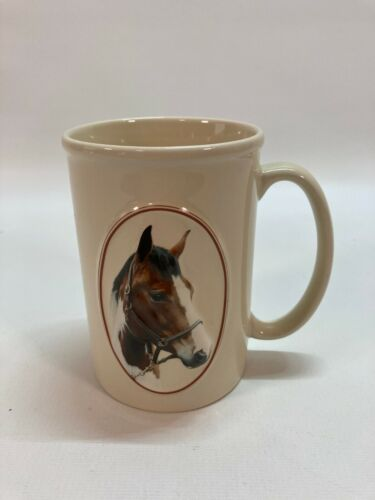 Equine Expressions Coffee Tea Mug Cup Horse 3D Paint Pinto Jensen Quote (B2)