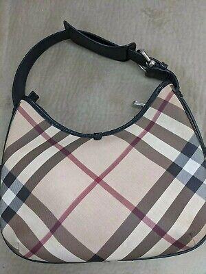 Burberry Nova Check Shoulder Bag Purse Handbag