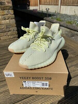 Adidas yeezy boost 350 v2 butter uk size 9.5 WORN ONCE!