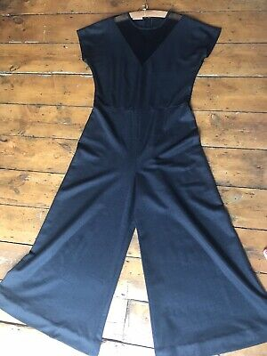 Vintage Flair Black Jumpsuit Uk16/18