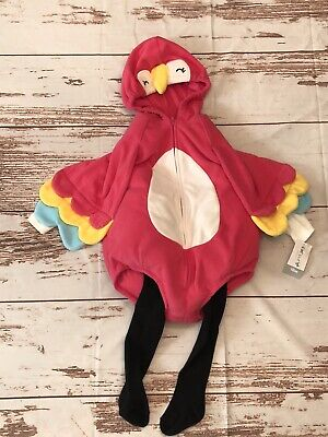 Parrot Halloween Costume For Baby (NEW Carter's Baby 18m Little Parrot Halloween Costume 3 Piece Set)