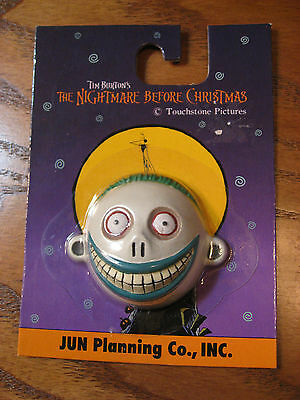 Nightmare Before Christmas- Barrel Resin Face Magnet - 3D Sculpted, JUN Planning](Magnetic Face Toy)
