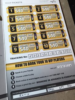 20 IPG paintball vouchers Prairiewood Fairfield Area Preview