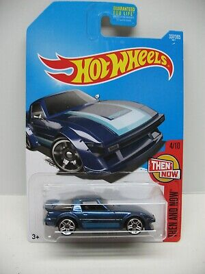 2017 Hot Wheels  Then and Now 3/10 '95 MAZDA RX-7 BLUE DVB01 337/365 4/10