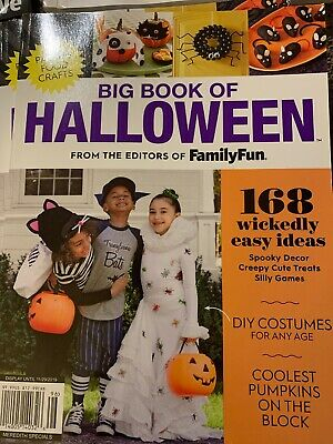 Big Halloween Costumes 2019 (Big Book of Halloween 2019 Magazine Family Fun Parties Crafts Costumes)