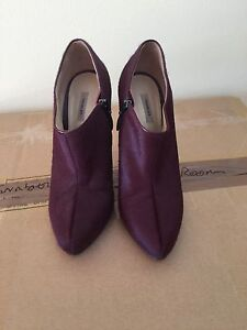 Burgundy Suede Thurley Ankle Boots Rozelle Leichhardt Area Preview