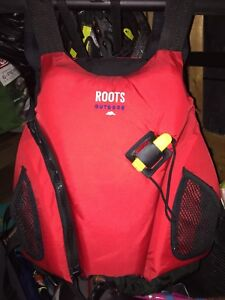 Roots paddling life jacket pfd adult small-med