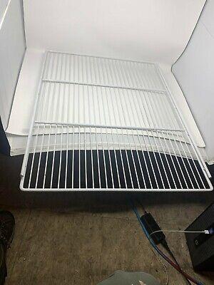 White Cooler Shelves 22 By 30