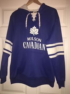 Molson Canadian NEW hoodie Sz Large