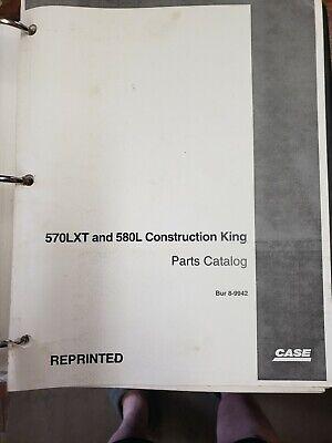 580l 570lxt Parts Manual Book Catalog Case Loader Backhoe 4t-390 Engine