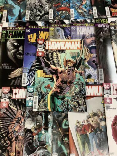 HAWKMAN #1-29 Comic Book FULL SERIES DARK NIGHTS METAL SPINOFF HITCH HAWKGIRL
