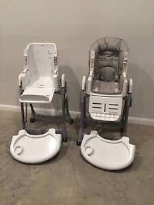 2x Complete Steelcraft Baby High Chairs (from Jannali, NSW) Jannali Sutherland Area Preview