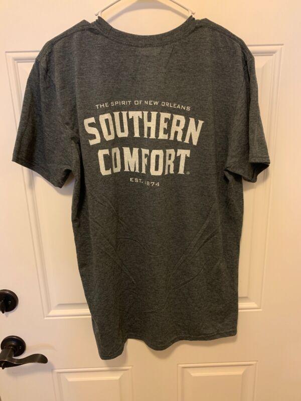 Southern Comfort T Shirt L Liquor Beer Man Cave Bar Concert