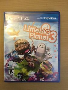Little big Planet 3 for PS4 (sealed brand new)