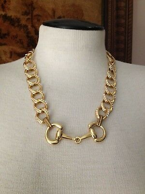 New Howlite Pink Horse Bit Necklace #HNE567