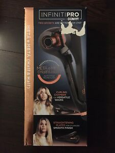 Infinity Pro by Conair half and half curl secret