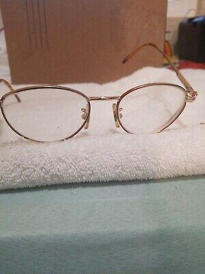 Vintage Gucci Eyeglass Frames ~ Bronze & Tortoise Shell (Needs Repair)