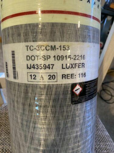 New SCOTT 30 MINUTE SCBA bottle 2216# Manufacture date 12/2020