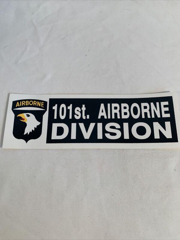 US Army 101st Airborne Division Bumper Sticker