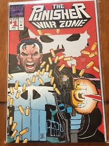 The Punisher War Zone 1st issue mint comic