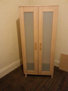 Wardrobe .with hanger and shelf. North Melbourne Melbourne City Preview