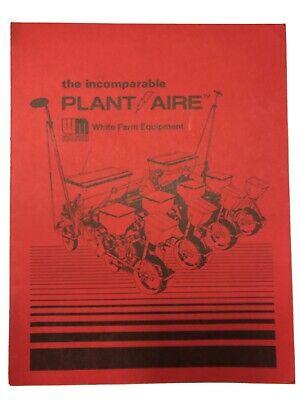 White Farm Equipment Plantaire Promo Book
